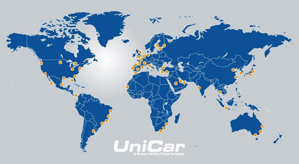 UniCar global locations